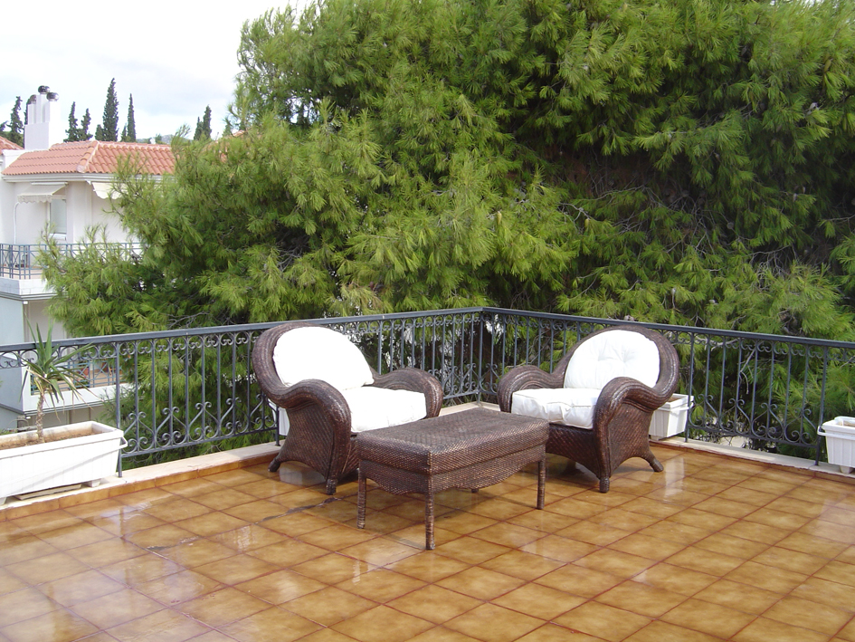 Transparent terrace waterproofing case study in athens for Terrace waterproofing