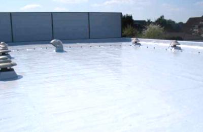 Flat Roof Waterproofing Wilkinson Factory in Solingen Germany