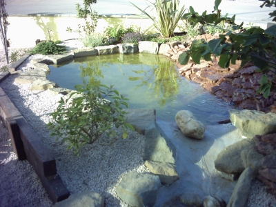 Waterproofing ponds fish tanks maris polymers maris for Artificial fish pond