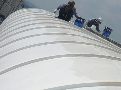 Sloped-Roof-Waterproofing-MARISEAL-2