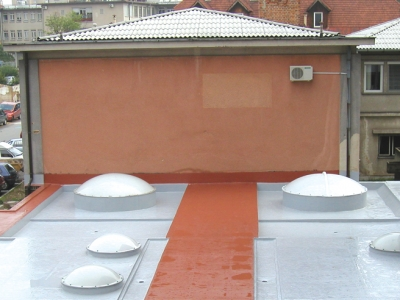 Captivating Colored Balcony Terrace Waterproofing1