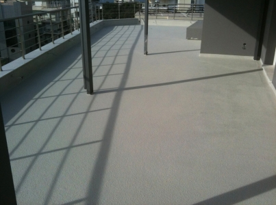 Hicolored Balcony Terrace Waterproofing2
