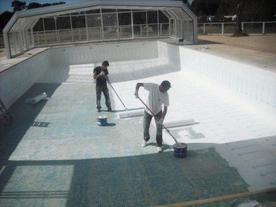 Swimming Pool Waterproofing Maris Polymers Maris Polymers