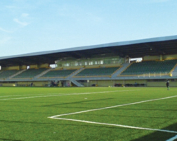 Bulgaria Stadium Tribunes