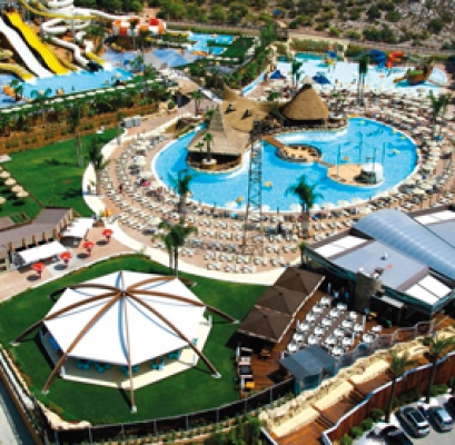 Protecting Swimming Pool Coating for the Copa Copana Water Park in Athens