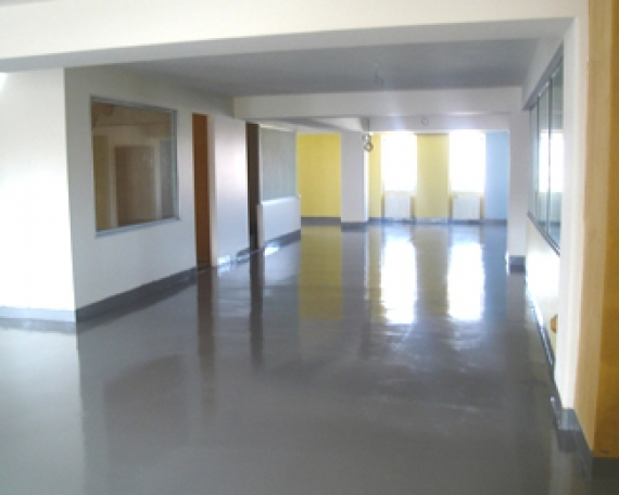 Self-Leveling Floor Coating of Hippokrates Hospital in Athens Greece