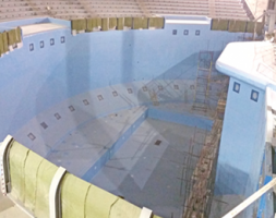 Orca Whale Pool Waterproofing at the 9000 m2 Aquarium in Russia